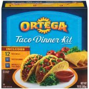 B and G Ortega Taco Dinner Kit, 10 Ounce -- 12 per case.