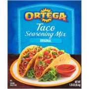 Ortega Taco Seasoning - 1.25 oz. packet, 24 per case