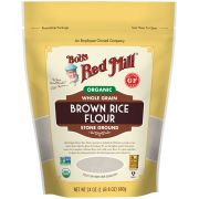 Bobs Red Mill Organic Brown Rice Flour, 24 Ounce Pouch -- 4 per case