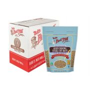 Bobs Red Mill Quick Cooking Steel Cut Oats, 22 Ounce -- 4 per case.