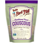 Bobs Red Mill Traditional Pearl Couscous, 16 Ounce Pouch -- 4 per case