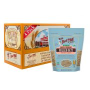 Bobs Red Mill Organic Quick Cooking Rolled Oats, 32 Ounce -- 4 per case.