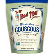 Bobs Red Mill Tri-Color Pearl Couscous, 16 Ounce Pouch -- 4 per case