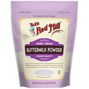 Bobs Red Mill Sweet Cream Buttermilk Powder, 22 Ounce -- 4 per case