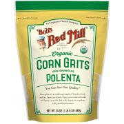 Bobs Red Mill Organic Corn Grits/Polenta, 24 Ounce -- 4 per case