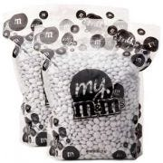 M and Ms White Milk Chocolate Candy, 10 Pound -- 1 each