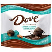 Dove Promises Dark Chocolate Sea Salt Caramel Candy, 7.61 Ounce Stand Up Pouch -- 8 per case.