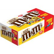 M and Ms 2.8 Ounce White Chocolate Peanut Candy, 24 count per pack -- 6 per case.