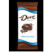 Dove Milk Chocolate Bar, 3.3 Ounce -- 12 per case.
