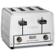 Waring Commercial Heavy Duty 4 Slot Toaster, 208 Volt -- 1 each.