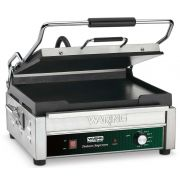 Waring Commercial Flat Toasting Panini Grill, 14 x 14 inch -- 1 each.