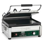 Waring Commercial Flat Toasting Panini Grill with Timer, 14 x 14 inch -- 1 each.