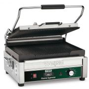 Waring Commercial Large Italian Style Panini Grill with Timer, 120 Volt -- 1 each.