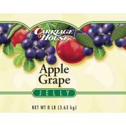 Carriage House Apple and Grape Jelly -- 6 per case.