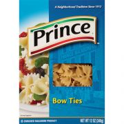 Prince Bow Ties Pasta, 12 Ounce -- 12 per case.