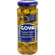 Goya Cocktail Pitted Olive, 5.5 Ounce -- 24 per case.