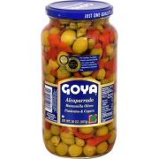 Goya Caper with Manzanilla Olive and Pimento, 20 Ounce -- 12 per case.