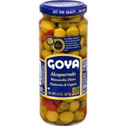 Goya Caper with Manzanilla Olive and Pimento, 8 Ounce -- 24 per case.