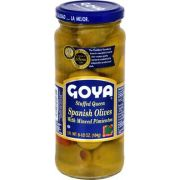 Goya Stuffed Queen Olive, 6.5 Ounce -- 24 per case.