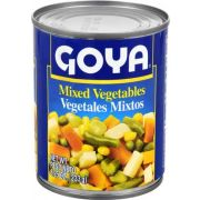 Goya Mixed Vegetable - 8.25 oz. can, 24 cans per case