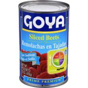 Goya Low Sodium Sliced Beet, 15 Ounce -- 24 per case.