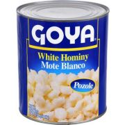 Goya  White Hominy - no. 10 can, 6 cans per case