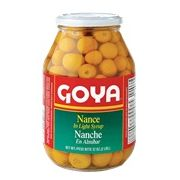 Goya Yellow Cherries Nance Fruit, 32 Ounce -- 12 per case