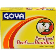 Goya Cubitos Polvo Carne Beef, 2.82 Ounce -- 24 per case.