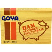 Goya Flavored Concentrate Ham, 1.41 Ounce -- 36 per case.