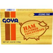 Goya Flavored Concentrate Ham, 3.52 Ounce -- 18 per case.