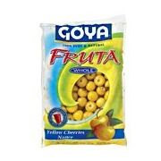 Goya Yellow Cherries Nance Fruit, 14 Ounce -- 12 per case