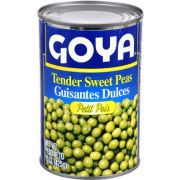 Goya Tender Sweet Pea - 15 oz. can, 24 cans per case