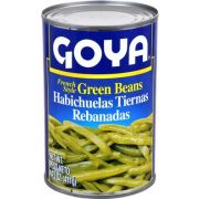 Goya French Style Green Beans - 14.5 oz. can, 24 cans per case