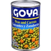 Goya Peas and Carrots - 15 oz. can, 24 cans per case