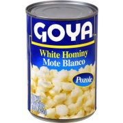 Goya White Hominy - 15 oz. can, 24 cans per case