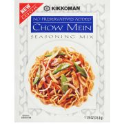 Kikkoman Chow Mein Seasoning Mix, 1.125 Ounce -- 12 per case