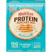 Krusteaz Protein Pancake Mix, 20 Ounce -- 8 per case
