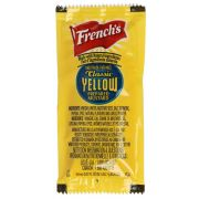 Frenchs Classic Yellow Prepared Mustard, 7 Gram Packet -- 500 per case