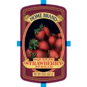 Carriage House Home Brand Squeeze Strawberry Spread, 20 Ounce -- 12 per case.