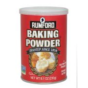 Rumford Aluminum Free Double Acting Baking Powder, 8.1 Ounce -- 12 per case.
