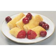 Old Fashioned Kitchen Lacy Leaf Cheese Blintz, 2.25 Ounce -- 144 per case.