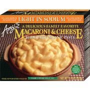 Amys Light in Sodium Macaroni and Cheese, 9 Ounce -- 12 per case.