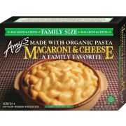 Amys Family Size Macaroni and Cheese, 28 Ounce -- 8 per case.