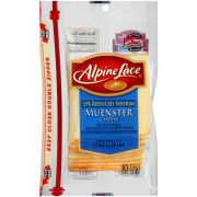Land O Lakes Alpine Lace Muenster Cheese Slice, 8 Ounce -- 12 per case.