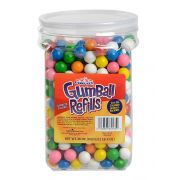 Ford Gum Gumball Refill Jar, 36 Ounce -- 6 per case.