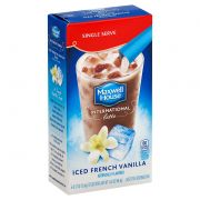 Maxwell House International Cafe Style Iced Latte Singles French Vanilla Beverage Mix, 3.42 Ounce -- 8 per case.