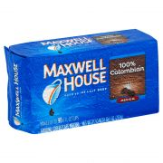 Maxwell House Columbian Ground Coffee - 10.5 oz. vacuum bag, 12 bags per case