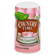 Kraft Country Time Pink Lemonade Drink Mix, 29 Ounce -- 12 per case.