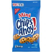 Krafts Mini Chips Ahoy Chocolate Chip Bite-Size Go-Pack Snack Bag, 3 Ounce -- 12 per case.