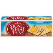 Wheat Thins Stoned Wheat Thins Cracker, 10.6 Ounce -- 12 per case.
